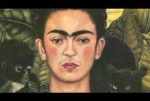 Pintor  : Frida Khalo (y Diego Ribera) / by Julie Winkler