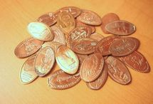 ₵ Souvenir Pressed Pennies ₵ / Commemorate events & celebrations, creating memories for a lifetime. / by Jane Riebe-Tritten