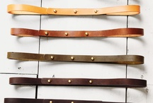 Accessories - Belts / by Chris Jamieson