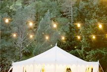 Tented celebrations / by Jennifer Mills Blume | Stylishly Lived