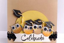 RUBBERSTAMPING:  GRADUATION / by Catherine Kraft
