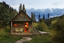 Woodland cabins / by Gail