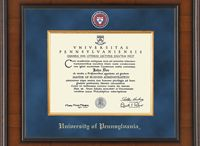 Diploma Frames / Our diploma frames are made in the U.S.A. and are hand-crafted at our production facility located in Connecticut. Each of our frames are designed with a removable back and step-by-step instructions for you to easily insert your own diploma. Archival quality and acid free mounting materials are also included, allowing you to safely and easily insert your diploma, and ensures ease of removal should the need arise in the future. To see more of a selection, visit us at: www.diplomaframe.com / by Church Hill Classics
