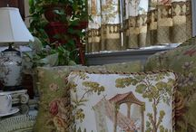 Curtains & Upholstery Ideas / by Margie Bailey