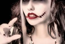 halloween costumes and makeup / by Barbara Blomer