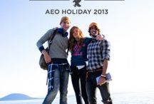 AEO Alaska Travel Guide 2013 / We took 14 individuals into the wilds of Alaska for an adventure shared with a group of friends, new and old. They experienced everything the North had to offer – a journey of epic proportions, all documented by us. / by American Eagle Outfitters