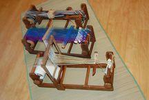 card weaving / by Blandÿn Ragnarsðöttir