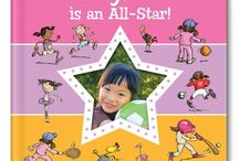 NEW!  I'm an All-Star personalized book / Celebrate your favorite little athlete with this adorable new personalized storybook, 'I'm an All-Star!' Your child will learn important tips for being an All-Star all-around, including having a positive attitude, being a good sport, practicing, playing by the rules and more! / by I See Me! Personalized Children's Books
