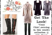 Collection 8: Cozy Chic / by Shop Lila Rose ~ A Chic Boutique