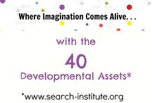 . . .with 40 Developmental Assets. / Thanks to the research done by the Search Institute, we have the framework on the 40 Developmental Assets to help guide our play.  Learn more about our asset-rich environment at www.thechildrensmuseum.org/assets / by Seattle Children's Museum