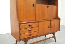 Vintage furniture, 50's, 60's and 70's / Webe, Louis van Teeffelen, Pastoe, Danish Design, 60's en 70's / by Karin la Faille