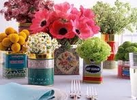 Centerpieces DIY / Easy peasy everyday centerpieces that you can do yourself / by Jodi Allen