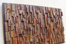 Reclaimed Wood Art / by Reclaimed Wood, Inc.