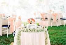 Wedding Table Ideas / Table scapes and decorations / by French Wedding Style - Wedding Blog