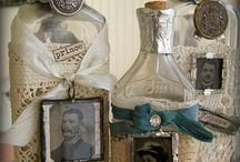 Altered Art Bottles and Cans / by Jeannie Phillips