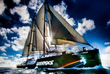 Rainbow Warrior in North QLD / by Greenpeace Australia Pacific