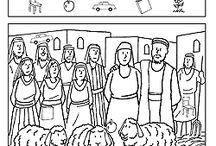 children's church worksheets / by Kristen Pentz