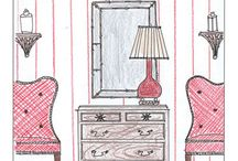 D is for Decor / by Erin Knox Higgins