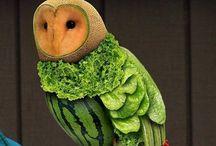 Edible Art / Food sculptures & artful displays  / by Michael Arlen