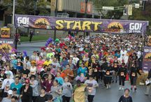 GO! St. Louis Events / We offer a variety of races for all ages and fitness levels, including the festive Great Halloween Race, the All-American 5K and the KT82 Trail Relay. / by GO! St. Louis