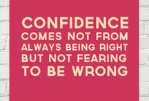 Confidence / by M
