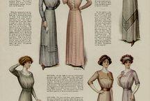 1890s, edwardian and teens era / by Ela Nycz