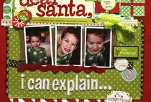 Scrapbooking ideas -Christmas / by Andie Freeman