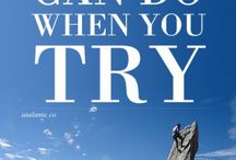 Motivational Quotes / by Patricia Rumsey