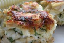 Seafood Main Dishes / by Shannon Stoutenborough