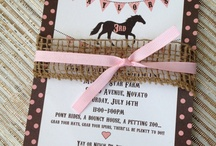 Horse Birthday / by Julie Seidel