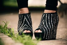 Flat's heel boots <3 / by Ashley Escoto