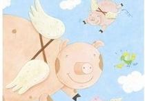 I Love Pigs :o / by Janie Hardy