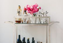 I finally have a bar cart! / by Maggie Drozd