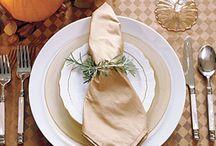 Table settings / by Cat Seno
