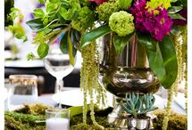 Flowers and Tablescapes / by Amanda Jones