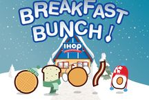 IHOP's Breakfast Bunch / Get to know IHOP's Breakfast Bunch!  / by IHOP