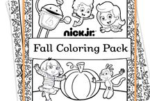 Printable Pages for Coloring and Activity. / Why not add a few easy to print coloring or activity pages in your shoebox gift with a box of crayons? / by ClipWithPurpose