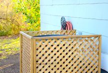 Sprucing Up The Outdoors / Yard decorations, ideas, and making it awesome / by Jessie Bray