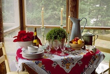 Tablescapes / I love great table settings, they make a gathering more special and inviting. I think the simpler the better and am discovering I really like earth tones for that homey touch. / by Sherrie Cox