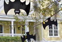 Bats Ghosts Spiders  / Halloween / by Jessica Allen & Lindy Allen