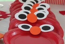 sesame street diy party / for my Godson who loves Elmo / by Jennifer Shanley