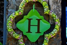 wreath ideas / by Linda Bynum