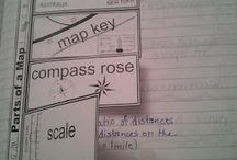 Geography Interactive Notebook / by Ruth Alonzo