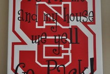 We are the Red and White / North Carolina State University Collegiate / by Katherine Aiello