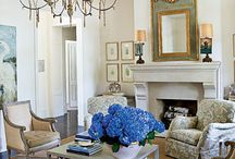 home: hearth room / ideas to style, furnish & decorate a hearth room / by Coordinately Yours by Julie Blanner