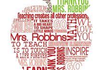 Teacher gift ideas / by Dayna Brehm