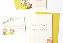 invitaciones wedding / by Cata Lina Lina