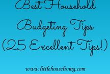 Budget Tips / Tips for Stretching your Budget and getting the most for your money!  / by Passion For Savings
