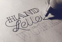 Handlettering & Typography / by The Aspiring Illustrator