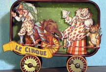 Clowns and Circus / Art from the Alpha Stamps Design Team / by Alpha Stamps